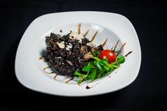 Sensazione nera del riso Fotografia Stock Libera da Diritti