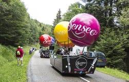 Senseo husvagn Arkivbild
