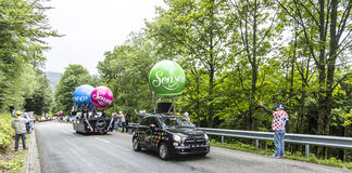 Senseo Vehicles - Tour de France 2014 Stock Images