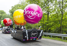 Senseo Vehicles - Tour de France 2014 Royalty Free Stock Images