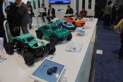 Senserover, coches accionados por control remoto en CES 2019 imagenes de archivo