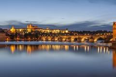 Senset w Praga zdjęcia royalty free