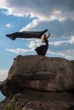 Sensibilità della libertà nel vento Fotografie Stock Libere da Diritti