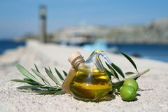 Sensibilità mediterranea Fotografia Stock