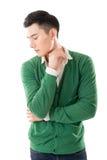 Sensitive Asian young man Royalty Free Stock Photos