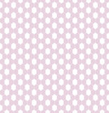 A sensitive seamless pattern for textile lace or net in girlish pink and white colors royalty free stock photos