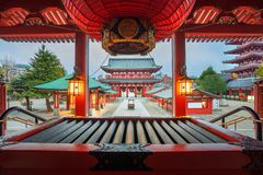 Senso籍寺庙在东京,日本 图库摄影