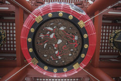Senso籍寺庙在浅草,东京,日本 词意味Kob 免版税库存图片