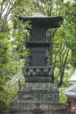 Senso籍寺庙在浅草,东京,日本 词意味Kob 免版税库存照片