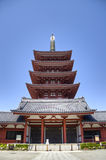 Senso籍寺庙在浅草,东京,日本 免版税库存图片