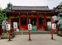 Senso籍Kannon寺庙,东京,日本 免版税库存照片