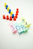 Senso che piombo ai job - apertura di job Immagine Stock Libera da Diritti