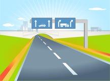 Senso del camion royalty illustrazione gratis