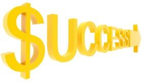 Senso di successo Fotografia Stock