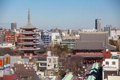 The Senso-ji Buddhist Temple Royalty Free Stock Images