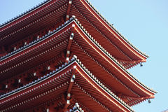 Senso-Ji Pagoda Royalty Free Stock Photos