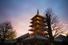 Senso-ji Tempel, Asakusa, Tokyo, Japan stockfoto