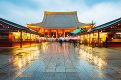 Senso-ji Temple at Asakusa area in Tokyo, Japan Stock Photo