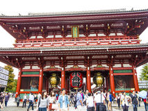 Senso-ji Temple Royalty Free Stock Photo