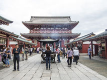 Senso-ji Temple Royalty Free Stock Image