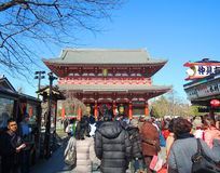 Senso-ji Temple in Asakusa, Tokyo Royalty Free Stock Image