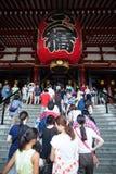 Senso-ji Temple, Asakusa, Tokyo, Japan Stock Images