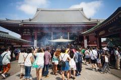 Senso-ji Temple, Asakusa, Tokyo, Japan Royalty Free Stock Image