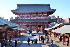 Senso-ji Temple Asakusa Tokyo Japan Royalty Free Stock Photography