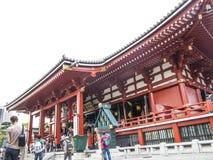 Senso-ji Temple building Stock Images