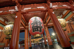 Senso-ji Temple in Tokyo Royalty Free Stock Photo