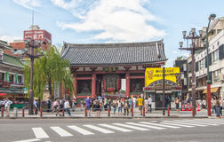 Senso-ji Temple  in Tokyo,Japan Royalty Free Stock Images