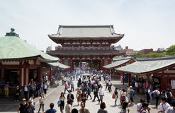 The Senso-ji Temple Royalty Free Stock Image