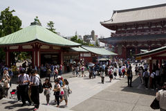 The Senso-ji Temple Royalty Free Stock Photography