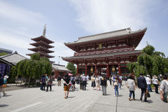 Senso-ji Temple Royalty Free Stock Images
