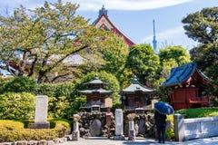 Senso-Ji temple in Tokyo, Japan Royalty Free Stock Photos