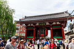 Senso ji temple in Tokyo Stock Photography