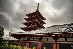 Senso-jitempel in Asakusa, Tokyo, Japan lizenzfreie stockfotografie