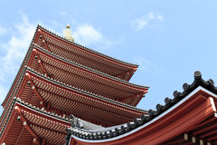 Senso -senso-ji Tempel, Asakusa, Tokyo, Japan Stock Afbeeldingen