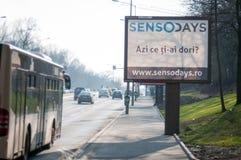 Sensodays ad Royalty Free Stock Photos