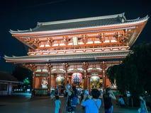 Sensojiæµ… è  ‰ 寺 Tempel, Tokyo, Japan Hozomon Stock Foto's