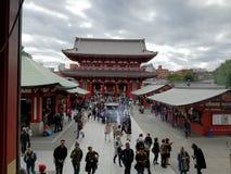 Sensoji佛教寺庙在东京 库存照片