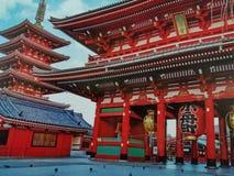 Sensoji寺庙东京 图库摄影