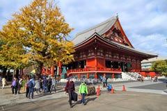 sensoji寺庙东京 免版税库存图片