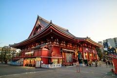 Sensoji寺庙在东京,日本 图库摄影