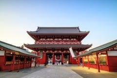 Sensoji寺庙在东京,日本 免版税库存图片