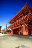 Sensoji寺庙在东京,日本 库存图片