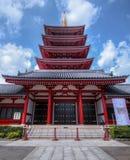 Sensoji寺庙在东京 库存图片