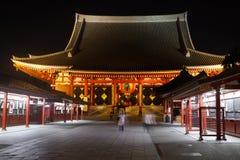 Sensoji寺庙在浅草,东京,日本 图库摄影