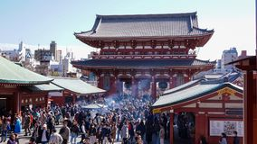 Sensoji寺庙门  库存图片