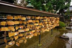 Sensoji寺庙,亦称浅草Kannon看法  最普遍为游人和它` s古庙在东京 库存图片